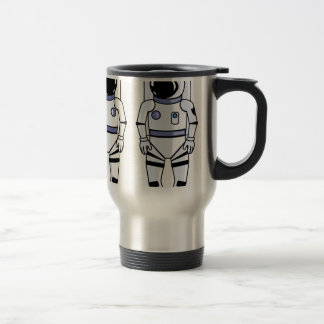 Space Suit Vector Travel Mug