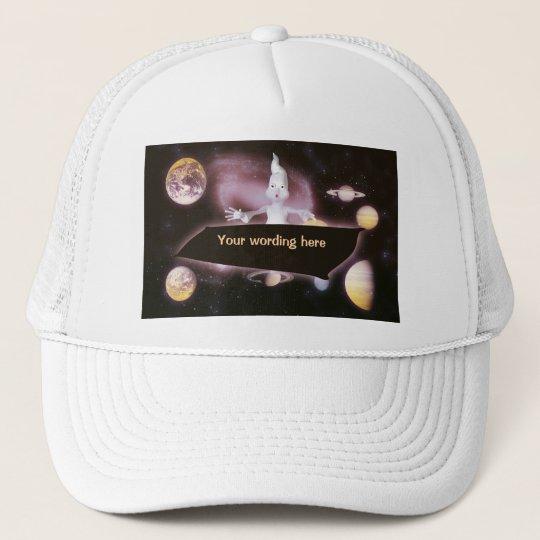 Space surprise ghost hats & peak caps