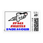 Space Suttle Endeavour 2012 Postage Stamp