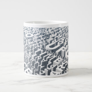 Space Syllables Large Coffee Mug