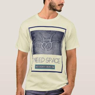 Space T light dark by talisblood T-Shirt