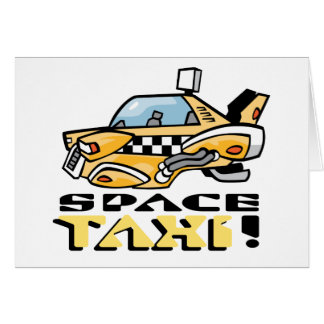 Space Taxi! Card