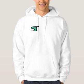space tech alien hooded sweatshirt