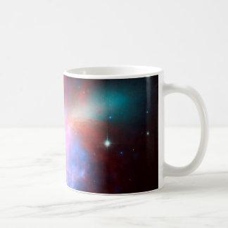 Space Telescopes Showing Stunning View Starburst Coffee Mug