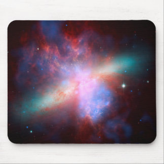 Space Telescopes Showing Stunning View Starburst Mouse Pad