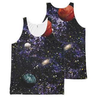 SPACE THE FINAL FRONTIER (composition 1) ~.jpg All-Over-Print Tank Top