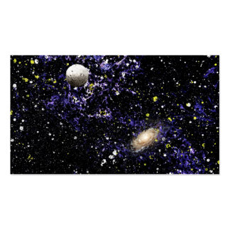 SPACE THE FINAL FRONTIER (composition 1) ~.jpg Double-Sided Standard Business Cards (Pack Of 100)