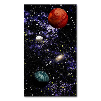 SPACE THE FINAL FRONTIER (composition 1) ~.jpg Magnetic Business Cards (Pack Of 25)