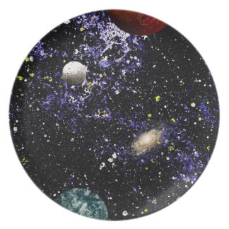 SPACE THE FINAL FRONTIER (composition 1) ~.jpg Party Plates