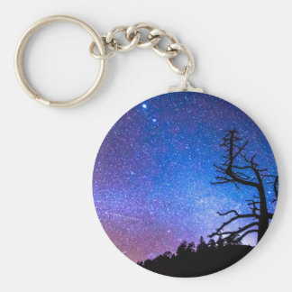 Space The Final Frontier Basic Round Button Keychain