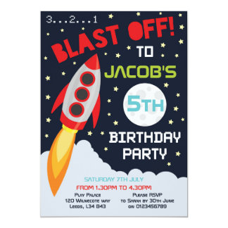 Space invitations announcements zazzle for Space themed stationery