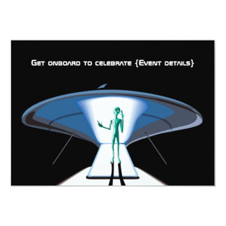 Space Themed Corporate/Adult Party customizable Card