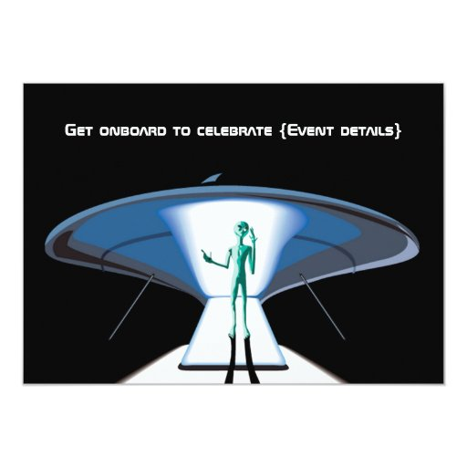 Space Themed Corporate Adult Party Customizable Card Zazzle