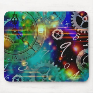 Space-Time Continuum-Fourth Dimension Mouse Pad