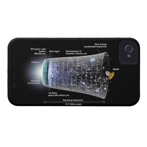Space timeline big bang explosion Case-Mate iPhone 4 case