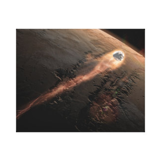 Space top canvas print