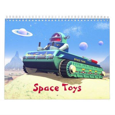 Space Toys Calendar