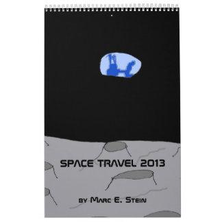 Space Travel 2013 Calendar