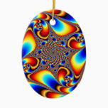 Space Travel - Fractal Ceramic Ornament