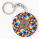 Space Travel - Fractal Keychain