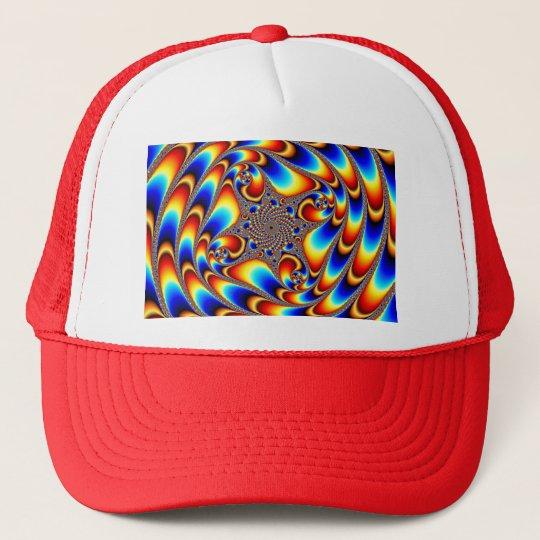 Space Travel - Fractal Trucker Hat