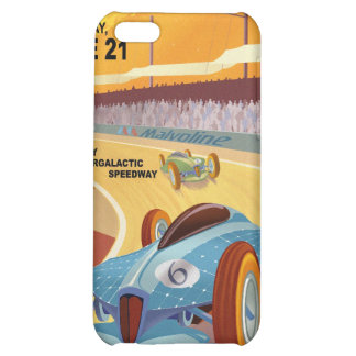 Space travel poster to mercury iPhone 5C cover
