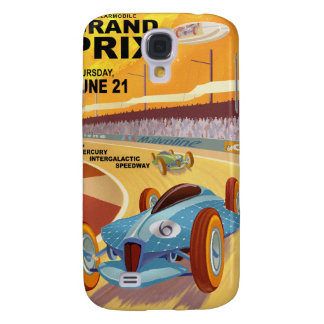 Space travel poster to mercury samsung galaxy s4 case