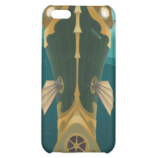 Space travel poster to neptune cover for iPhone 5C