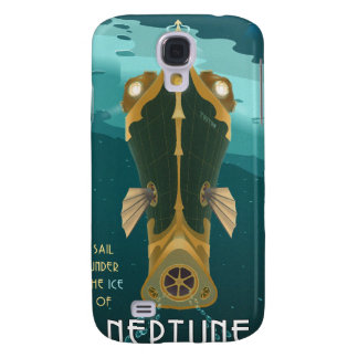 Space travel poster to neptune samsung s4 case