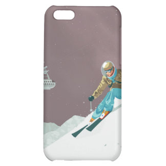 Space travel poster to pluto iPhone 5C case