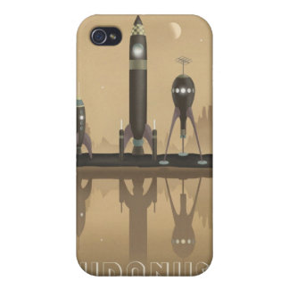 Space travel poster to uranus iPhone 4/4S cover