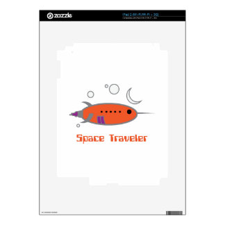 Space Traveler Decal For The iPad 2