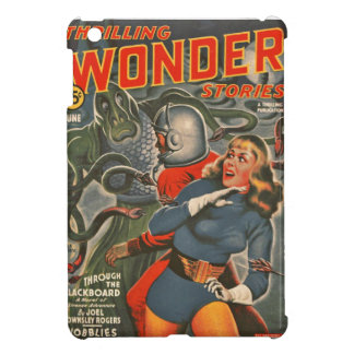 Space Travelers Attacked by Tentacle monster iPad Mini Cover