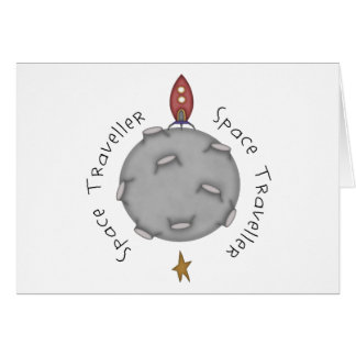 Space Traveller Card