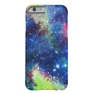 Space traveller spatial galaxy painting barely there iPhone 6 case
