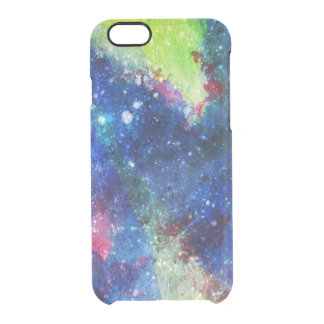 Space traveller spatial galaxy painting clear iPhone 6/6S case