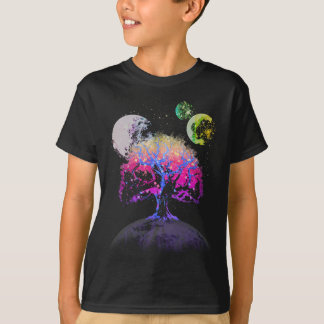 Space Tree of Life T-Shirt