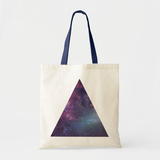 Space Triangle (Mini Tote) Bags
