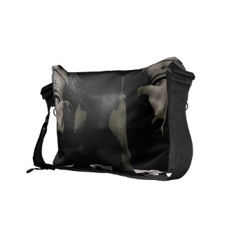 Space Troll Messenger Bag