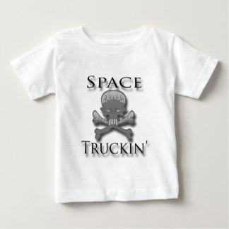 Space Truckin' blk Baby T-Shirt