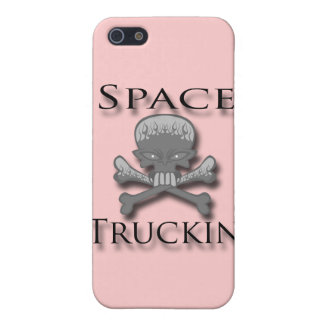 Space Truckin' blk Cover For iPhone SE/5/5s