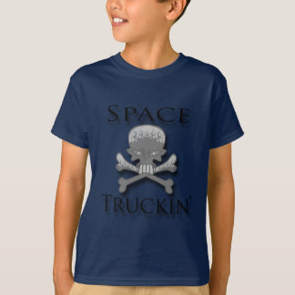 Space Truckin' blk T-Shirt