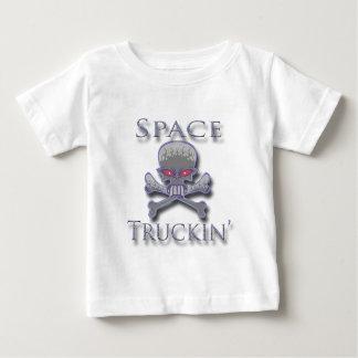 Space Truckin' blu Baby T-Shirt