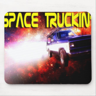 Space Truckin'! Mouse Pad