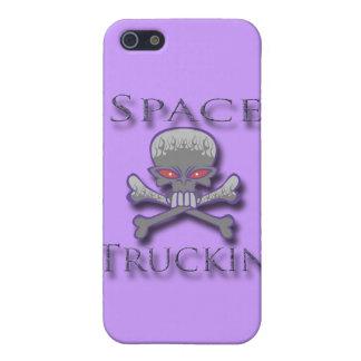 Space Truckin' prpl iPhone SE/5/5s Case