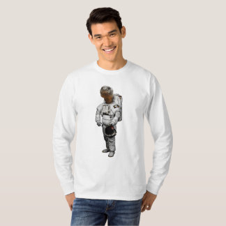 Space Turtle Long Sleeve T-Shirt