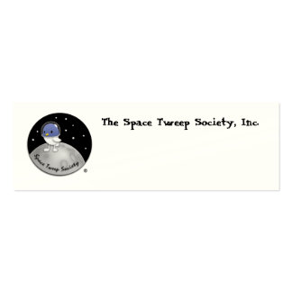 Space Tweep Logo Cards Business Card Templates