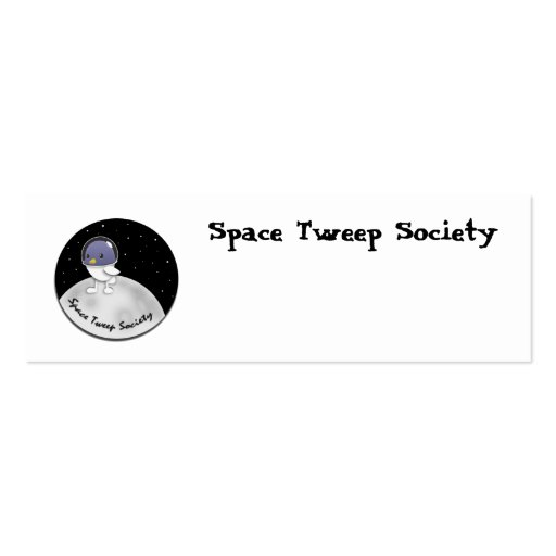 Space Tweep Logo Customizable Business Card Template
