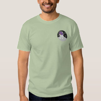 Space Tweep Society Logo Only Embroidered T-Shirt