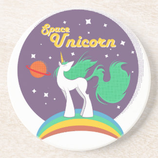 Space Unicorn Drink Coasters